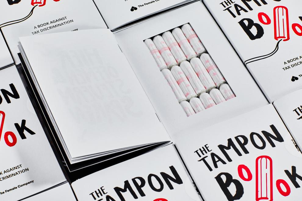 月經是種奢侈?德國公司推出《棉條書》抗議政府稅收不公 | DQ 地球圖輯隊