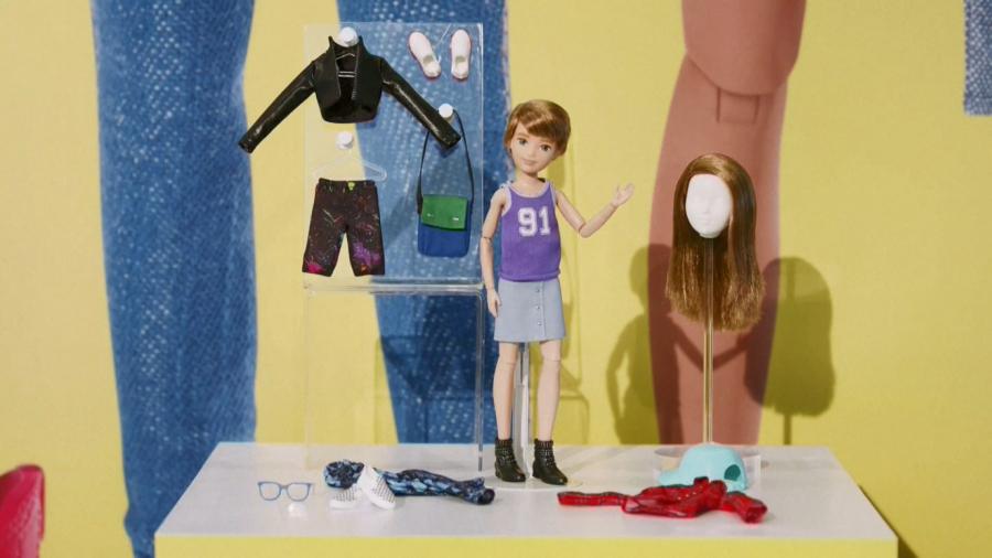 跳脫性別刻板框架 中性芭比娃娃問世