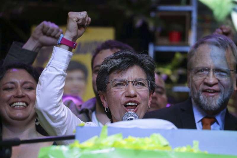 彩虹女力》哥倫比亞首都選出史上第一位女同志市長!羅培茲:我個人的一小步,為全國女性邁出一大步-風傳媒