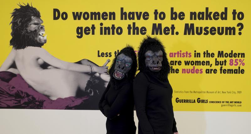 【哲學蟲洞】為何女人必須裸體才能進大都會美術館? – 報導者 The Reporter