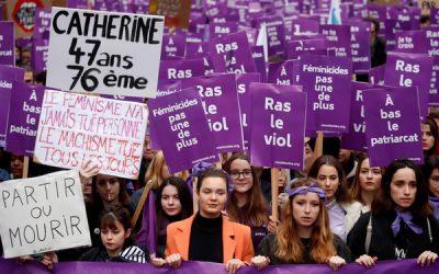 137婦女遭現、前任伴侶殺害! 「巴黎紫海」10萬人上街抗議性別暴力 | ETtoday新聞雲