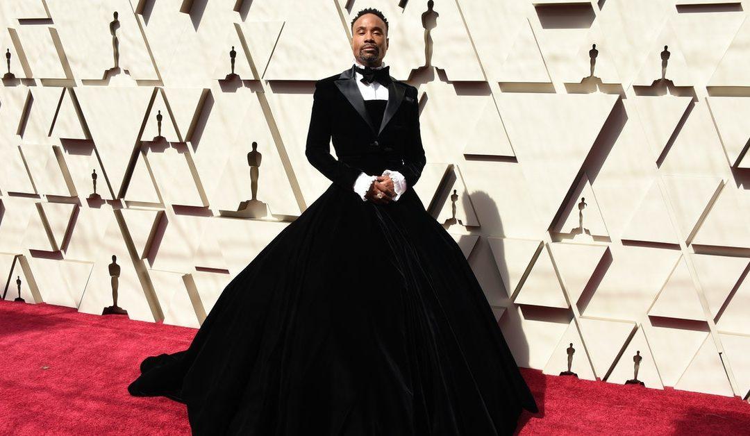 奧斯卡紅毯最美,同志男星比利波特「西裝長裙」突破男女界線 – The News Lens 關鍵評論網