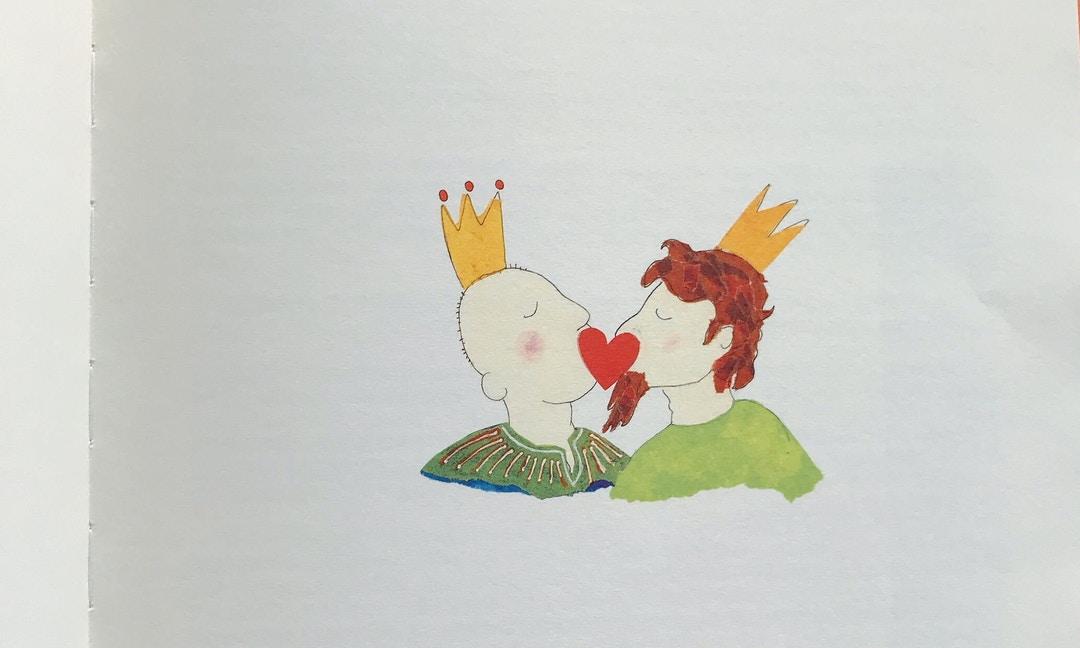 專訪《國王與國王》荷蘭作者斯特恩:我們想畫一本快樂的繪本,慶祝各種形貌的愛情 – The News Lens 關鍵評論網